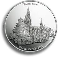 Silber-Weihnachtsthaler.