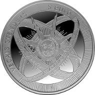 Latvia/ 5 EUR/ Silver .925/ 22 g/ 35 mm/ Designer: Aigars OzolinS and Janis Strupulis/ Mintage: 10,000.