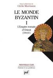 Cécile Morrisson (Hrsg.), Le Monde byzantin. Bd. 1: L'Empire romain d'Orient (330-641). Nouvelle Clio. L'histoire et ses problèmes. Paris, Presses universitaires de France, 2. Auflage, 2012. Paperback, 21,7 x 15,1 cm, 489 S. ISBN: 978-2-13-059559-5. Preis: 34 Euro.