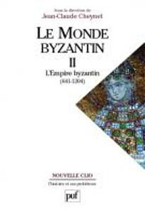 Jean-Claude Cheynet (Hrsg.), Le Monde byzantin. Bd. 2: L'Empire romain d'Orient (641-1204). Nouvelle Clio. L'histoire et ses problèmes. Paris, Presses universitaires de France, 2006. Paperback, 21,7 x 15,1 cm, 544 S. ISBN: 978-2-13-052007-8. Preis: 44 Euro.
