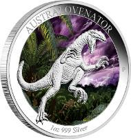 Australia/ 1 AUD/ 1 oz Silver 99.9/ 40.6 mm/ Designer: Tom Vaughan/ Mintage: 5,000.
