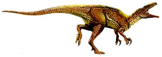 Artistic representations of Australovenator wintonensis. Artwork: T. Tischler, Australian Age of Dinosaurs Museum of Natural History /http://creativecommons.org/licenses/by/2.5/deed.en.