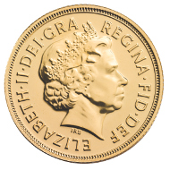 Indian Gold Sovereign 2014.