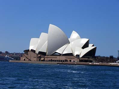 The Sydney Opera House. Photo: Ursula Kampmann