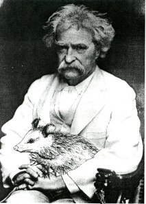 A rare photographic testimony of Marc Twain's trip to Bermania. © State Archive of Bermania.