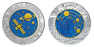 Austria / 2015 / 25 Euro / Silver-Niobium / 34,00 mm / 16,50 g / Design: Helmut Andexlinger.