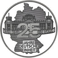 2015 / .333 Silber / 32,5 mm / Gestaltung Vorderseite: Michael Otto, Rodenbach / Gestaltung Rückseite: Stefanie Lindner, Münze Berlin.