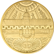 FRANCE / 500 Euro - 5 oz Gold Au 999 / Diameter: 50mm / Weight: 155.5 g / Proof / Mintage: 99.