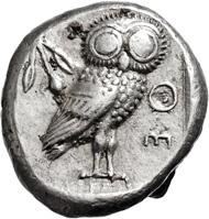 Attika. Athens. Tetradrachm. 510-480 BC.