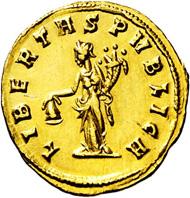 2319: Imperial Rome. Julianus of Pannonia. 284-285 AD. Aureus.