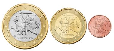 Litauenmünzen.