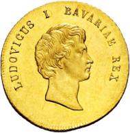 3081: Kingdom of Bavaria. Ludwig I. 1825-1848. Danube gold ducat 1830.