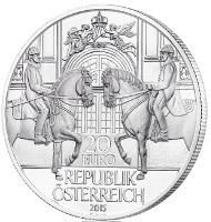 Austria / 20 euros / 900 fine silver / 34 mm / Design: Thomas Pesendorfer and Herbert Waehner / Mintage: 50.000.