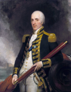 Admiral Alexander John Ball (1757-1809), Gemälde von Henry William Pickersgill / Wikipedia.
