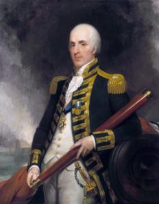 Admiral Alexander John Ball (1757-1809), painting by Henry William Pickersgill / Wikipedia.