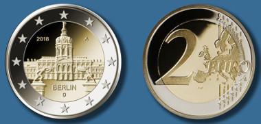 Deutschland / 2018 / 2 Euro / Design: Bodo Broschat, Berlin. © Bundesamt für zentrale Dienste und offene Vermögensfragen (BADV).