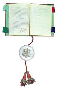 King Georg III. recognizes the accession of Prince Johann I. von Liechtenstein to the