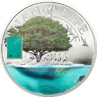 Cook Islands / 2015 / 10 Dollars / Silber .925 / 50 g / 50 mm / Proof / Auflage: 1000 Stück.