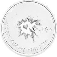 Finland / 2015 / 10 Euro / Ag500/1000 silver / 10g / 28.5mm / Design: Tapio Kettunen / Mintage: 25,000.