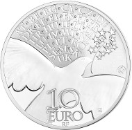 France / 2015 / 10 Euro / Ag 900 / 22.2 g / 37mm / Silver Proof / Mintage: 10,000.