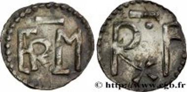 Denarius of Carloman I. Estimate: 12,000 euro.