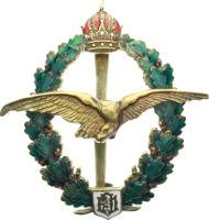 AUS 7.22 Österreich, Feldpilotenabzeichen, 1. Typ, Kaiser Franz Joseph I., Privatanfertigung, 1.250,- Euro.