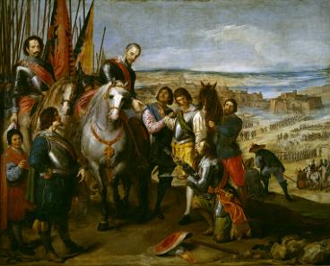 Jusepe Leonardo, The Surrender of Jülich, 1635.