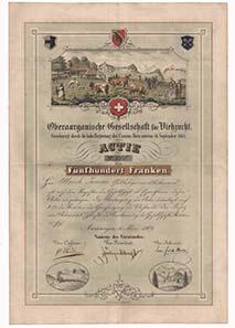 In der Mitte des 19. Jahrhunderts veränderte sich die Landwirtschaft in der Schweiz grundlegend. Die Industrialisierung der Städte zog eine Intensivierung der Landwirtschaft nach sich.