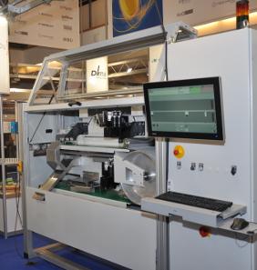 Rhino - The new bank sorting machine from InduVis snd INEA. © Inea / InduVis.