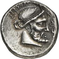Yad'ab Dhubyan Yuhargib, around 155-135 B. C. Tetradrachm, undated. Numismatica Genevensis 8 (2014), 274. Estimate: 50,000 CHF. Hammer price: 135,000 CHF.