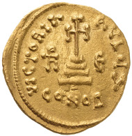 Byzantine solidus of Heraclius with his sons Heraclius Constantine and Heraclonas, 632-641. Numismatica Genevensis 8 (2014), 226.