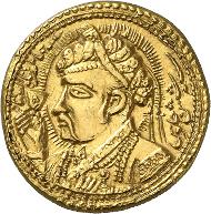 Nur-Ud-Din Muhammad Jahangir, 1014-1037 AH (= 1605-1628). Mohur 1020 AH (= 1611). Numismatica Genevensis 8 (2014), 307. Estimate: 100,000 CHF. Hammer price: 200,000 CHF.