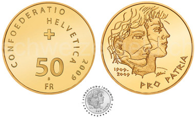 50 Francs commemorative coin