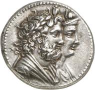 Nr. 7348: GRIECHEN. Ptolemaios IV., 221-205 (Ägypten). Tetradrachme, Alexandria. Sehr selten. NFA 20 (1988), 824. Vorzüglich. Taxe: 10.000,- Euro. Zuschlag: 48.000,- Euro.