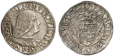 Mailand. Ludovico Maria Sforza, genannt
