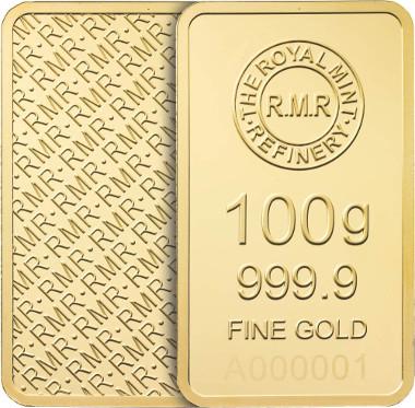 RMR 100g gold.