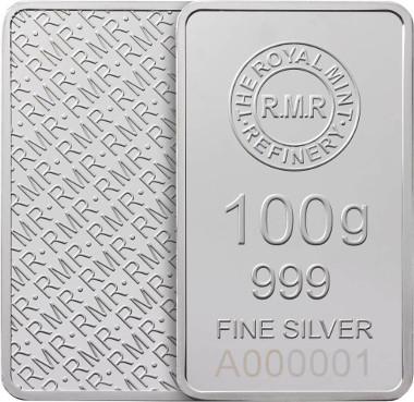 RMR 100g silver.