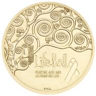 Österreich / 2015 / Silber Ag 999; vergoldet; punziert Ag 925 / 40 mm / 20,00 g / Design: Helmut Andexlinger.