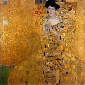 Adele Bloch-Bauer I (Gustav Klimt). Quelle: Wikipedia.