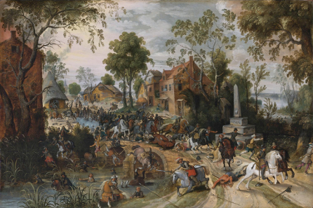 Sebastian Vrancx, The Battle of Stadtlohn, 1623. Source: Wikicommons.