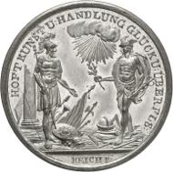 5174: Deutschland. Medaille 1809 (v. Reich) a. d. Frieden von Schönbrunn am 14. Oktober. vz-St. Rufpreis: 100 Euro.