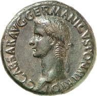 298: Caligula (37-41). Sesterz (37/38) RIC 37 (R), BMC 38, C. 24. vz. Rufpreis: 2.500 Euro.