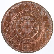 Siegel der eidgenössischen Tagsatzung, Stahl, 1815. © Schweizerisches Nationalmuseum.
