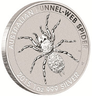 Australia / 2015 / 1 dollar / 1 oz .999 silver.