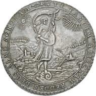 1118: Herzogtum Braunschweig-Lüneburg. Neues Haus Braunschweig-Wolfenbüttel. Rudolph August. 1666-1613. Breiter Löser 1685. Rufpreis: EUR 15.000.