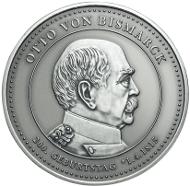 Otto von Bismarck Thaler in Silber.