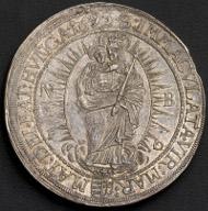 Leopold I. Doppeltaler 1695 (aus 1687 aus 1675). Nagybanya. Rufpreis: 8.000 Euro.