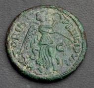 Theodahad. Bronze Follis zu 40 Nummien. Rom. Rufpreis: 2.600 Euro.