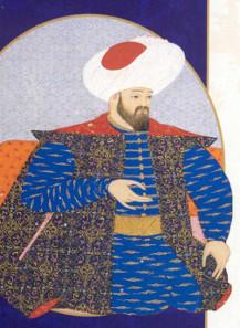 Osman I, Ottoman miniature painting (1579/80).