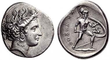 71 - Locris Opuntii, Stater, ca. 340 BC. NAC 55 (2010), 71.